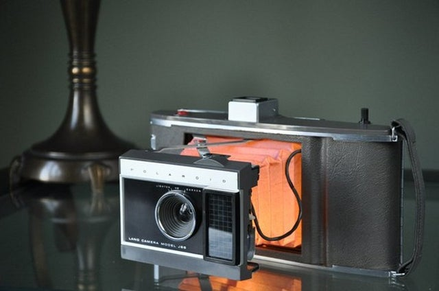 Polaroid Lamps Make Those Dusty Old Cameras Useful Again