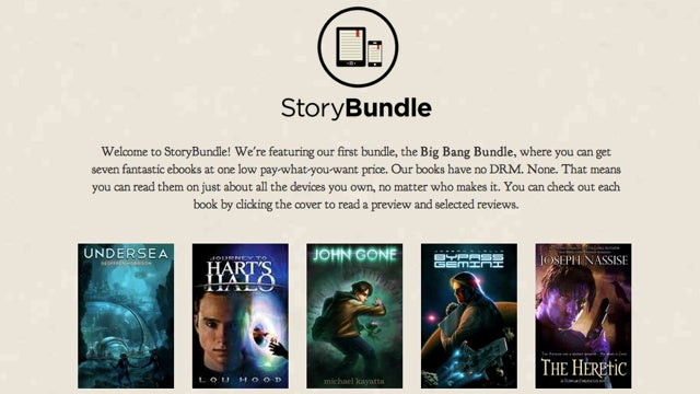 StoryBundle Sells Bundled, DRM-Free Indie Ebooks for Whatever You Think They're Worth