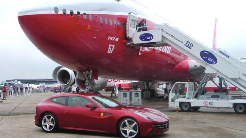 Boeing fails to load Ferraris into new cargo plane during demo