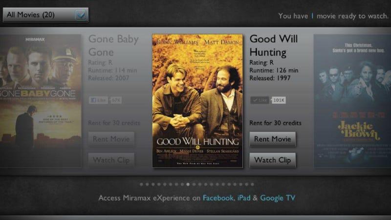 Miramax Launches Biggest Facebook Movie App Yet