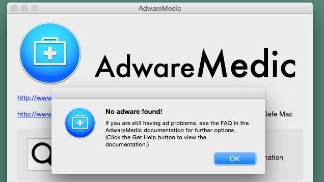 Adware Medic Removes Macintosh Malware