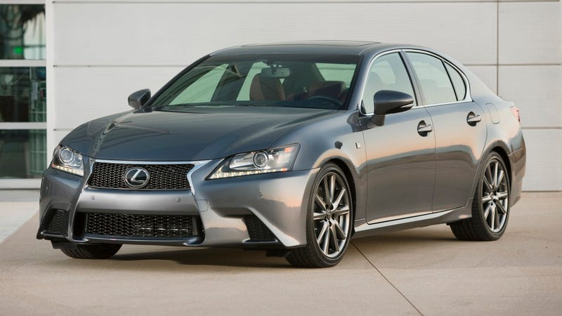 This is the Lexus GS 350 with F Sport package