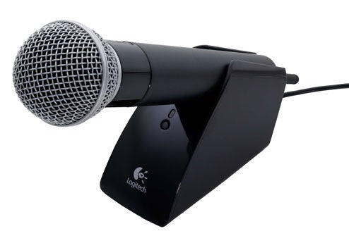 Logitech Wireless Vantage Mic, So Your 'Fans' Can't Hang Themselves