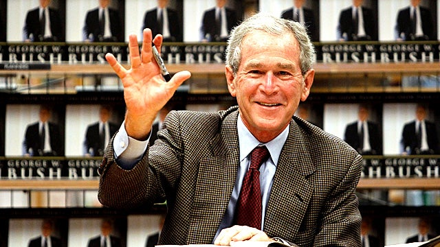 Bush and Cheney Are for Snooping In Everyone's Library Records But Theirs