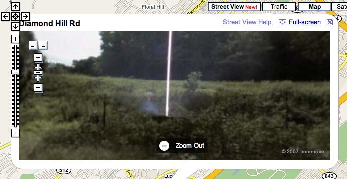 Google Maps Street View Found E.T.