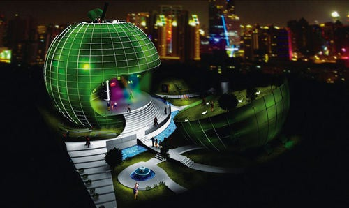 The Shanghai World Expo 2010 Will be an Amazing Architectural Freak Show