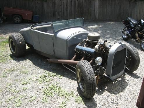 Before They Called Them Rat Rods: Hellhammer's Caddy-Powered Model T