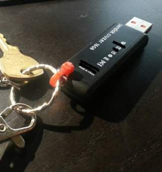 Challenge Winner: Minimize Your Key Ring With a Zip Tie
