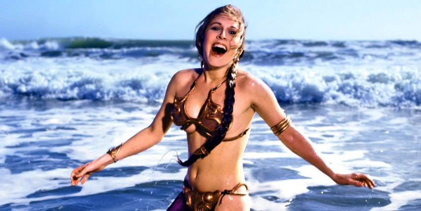 5-year-old girl discussing Princess Leia's slave outfit with her dad is pure gold
