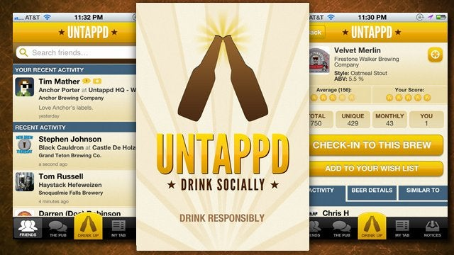Untapped Mobile Apps Let You Share Your Favorite Beers and Find New Ones