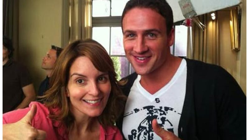 Ryan Lochte Doesn't Disappoint as 30 Rock's Sex Idiot (But Then, How Could He?)