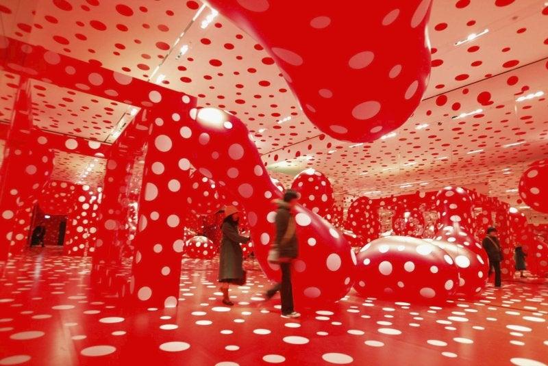 Yayoi Kusama's Obsessive Dots Hint at the Future of the Human Mind