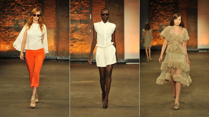 Christian Siriano Shows Dramatic Dresses & Gorgeous Gowns For Spring 2012