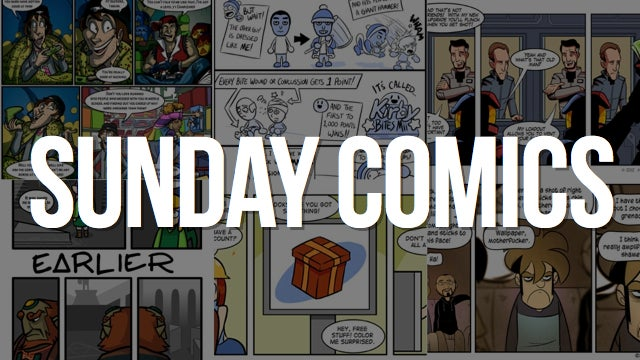 Sunday Comics: A Lot Harder Than It Looks