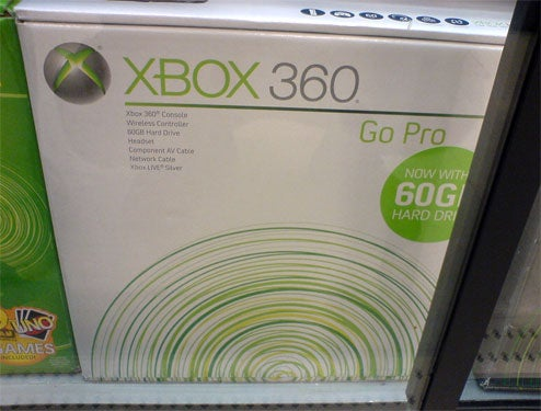 Xbox 360 60GB Already In The Wild