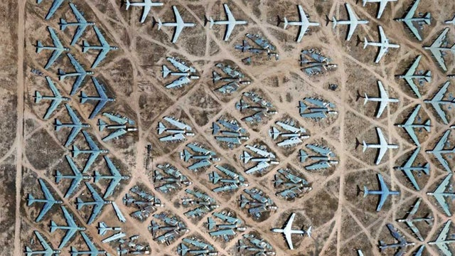 What's The Most Unbelievable Airplane Junkyard In The World?