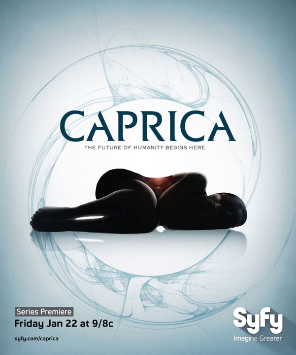 Is Caprica A Soap Opera? A Sexy Scifi Romp? Posters Can't Decide