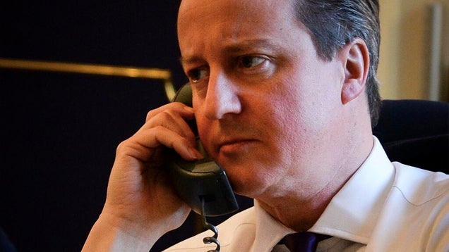 Somebody Totally Prank Called That Nerd David Cameron