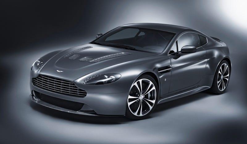 Aston Martin V12 Vantage: Four More Cylinders