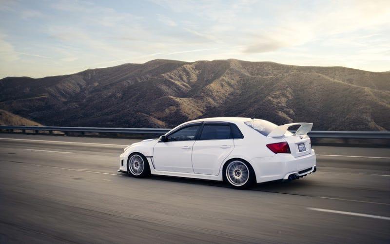 White car dump.