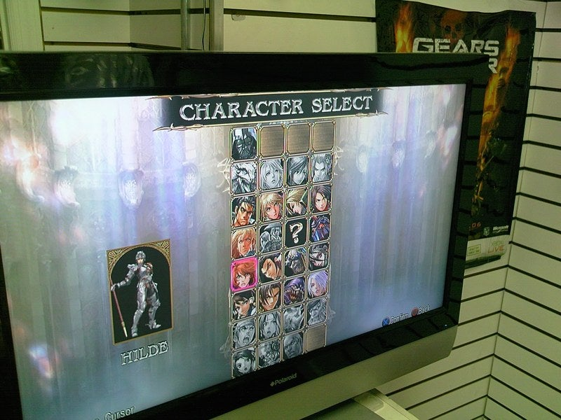 Soulcalibur IV Start Screen and Character Selection