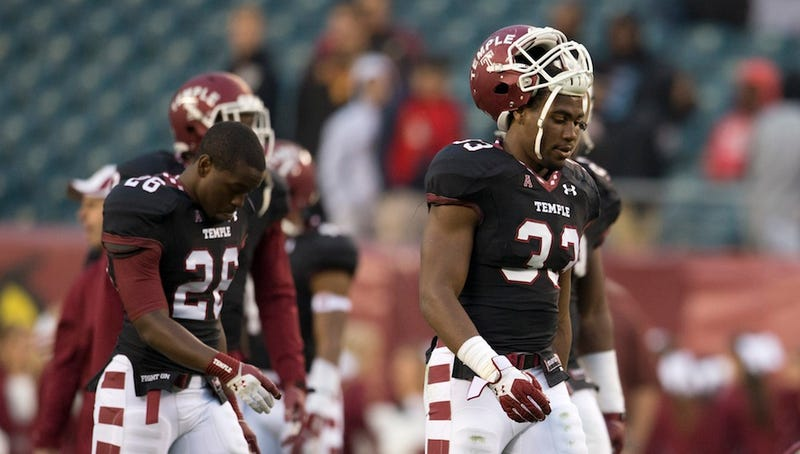 How Temple Football Pulled Everything Down With It