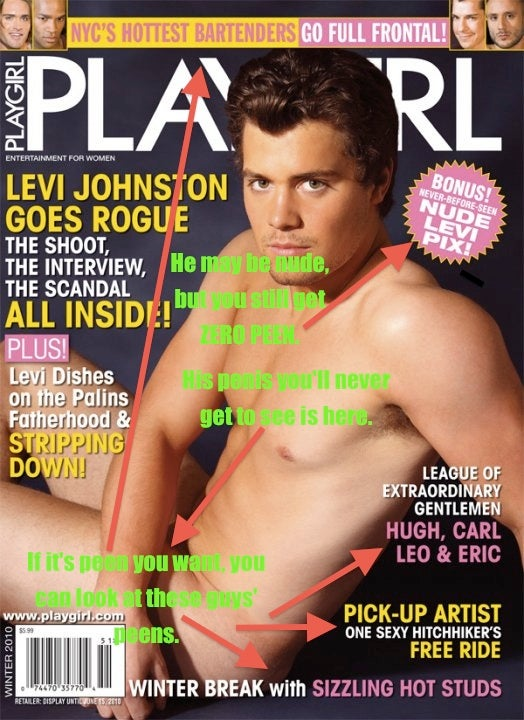 Having Fun with the Levi Johnston Playgirl Cover