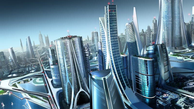 These Futuristic City Wallpapers Will Take Your Breath Away