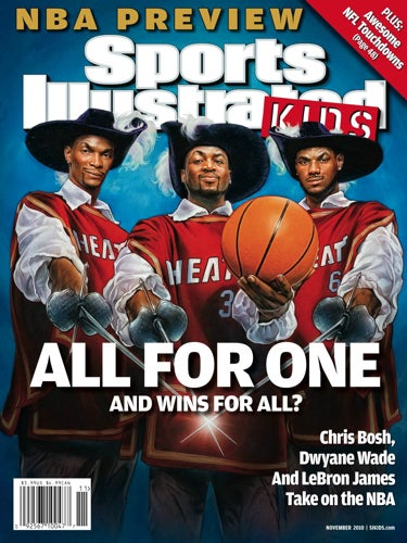 Let's Talk Rationally About The Theory That November's SI Kids Cover Is A Cleveland Diss