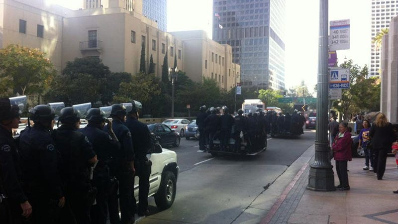 Nobody Walks in LA, Including Riot Cops
