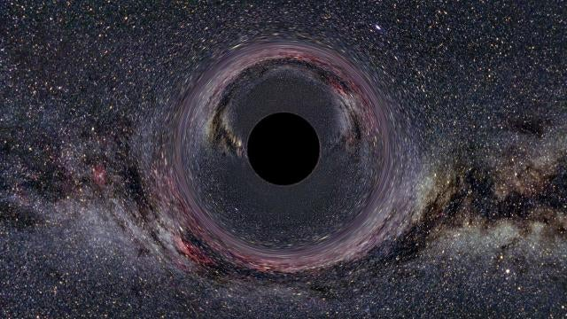 Life could actually survive inside a black hole