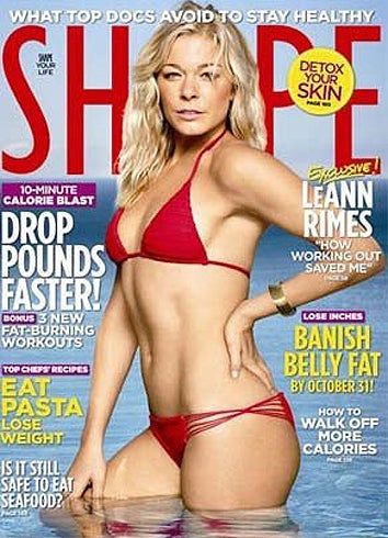 "Shape Magazine Calls LeAnn Rimes Cover A ""Terrible Mistake"""
