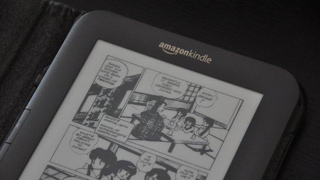 Read Your Digital Comics on a Kindle
