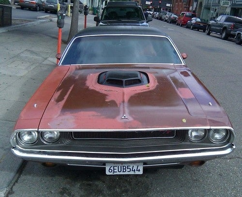 1970 Dodge Challenger Down On The Alameda Street