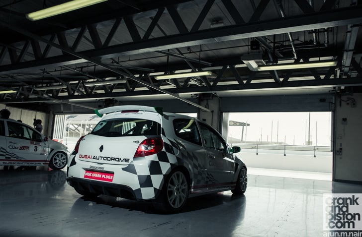 Renault Clio Cup. Back to school