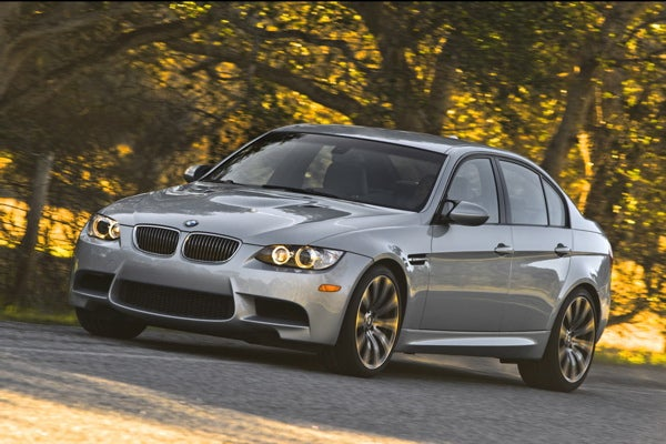 2009 BMW M3 Coupe And Sedan Shots Emerge, Now In Dark Silver And White