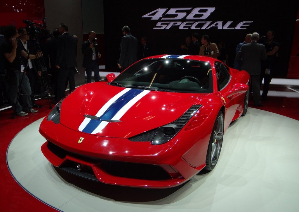 ferrari 458 speciale unveiled today in frankfurt. Black Bedroom Furniture Sets. Home Design Ideas