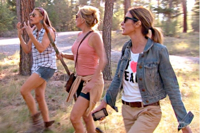 Real Housewives of New York Cry During Geocaching, Orgasms
