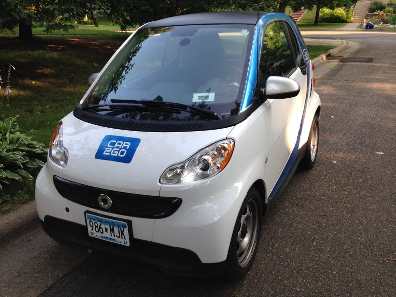 Car2Go Smart ForTwo – the Opposite Lock review
