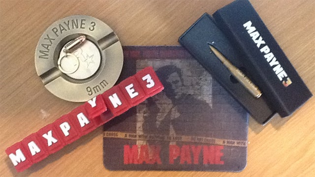 And So It Was That My Ancient Max Payne Mousepad Came Full Circle