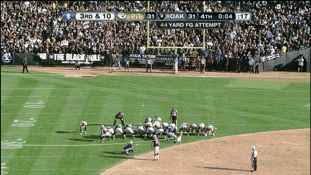 The Steelers Lost Because They Gave Sebastian Janikowski A Chance To Win It, In Four GIFs