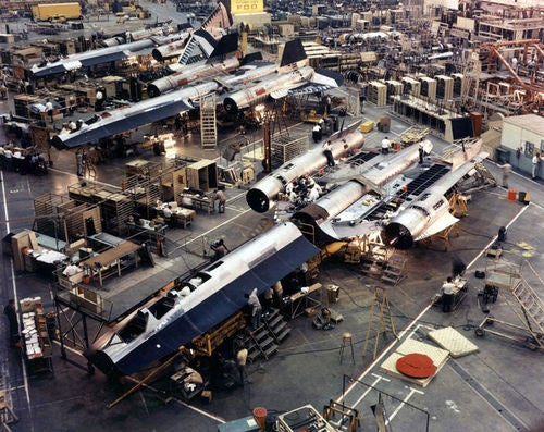 No, This Isn't An X-Wing Factory