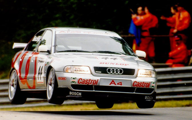 Not your usual flying Audi...