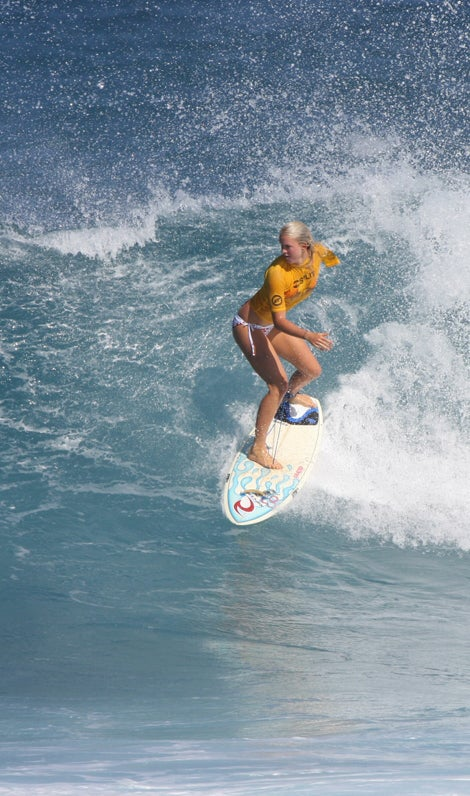 Shark Attack Survivor, Surfer Bethany Hamilton: Totally Tubular