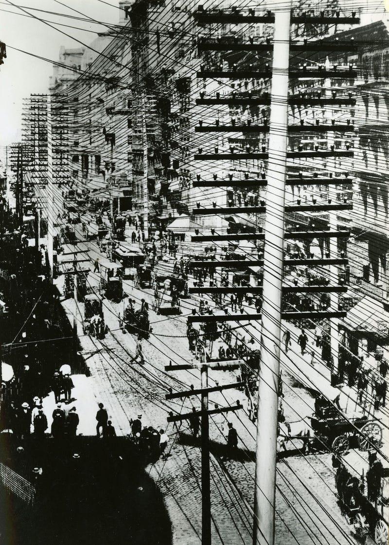 Electricity New York City History