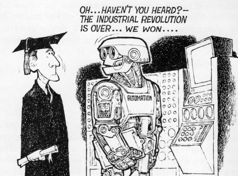 17 Jobs That Robots Were Supposed to Have Stolen By Now