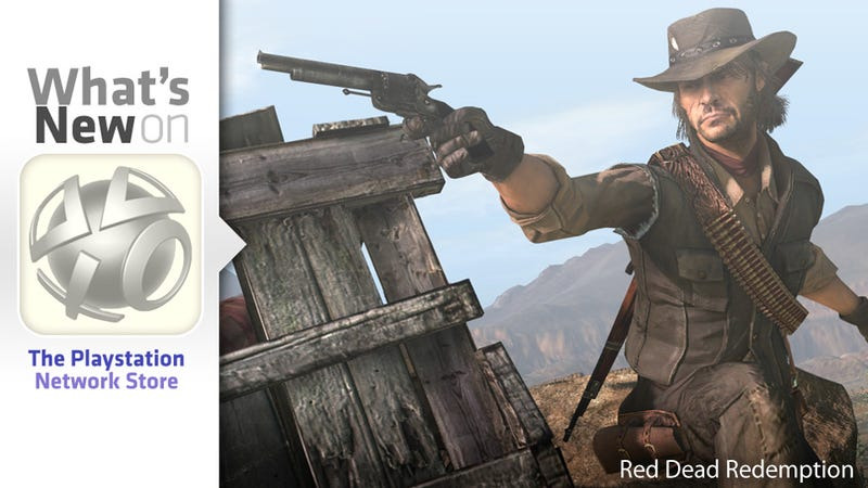 Red Dead Redemption and Jurassic Park New This Week on the PlayStation Store