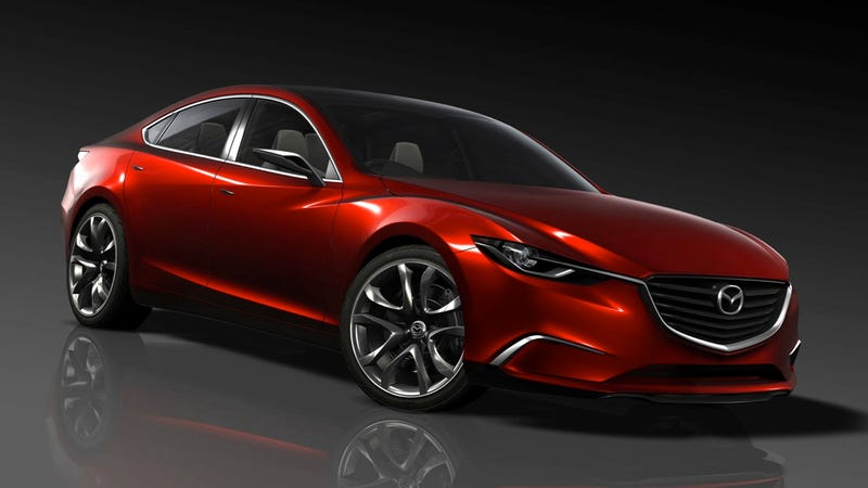 2013 Mazda 6 is the new Takeri Concept