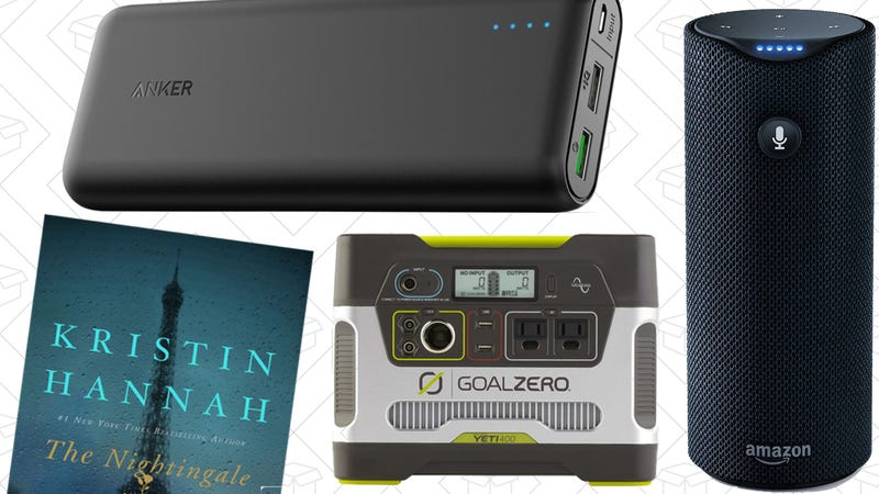 Sunday's Best Deals: Anker Father's Day Sale, Amazon Gadgets, $3 Kindle Books, and More