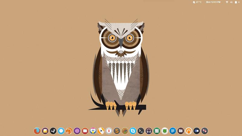 Flat Owl Desktop